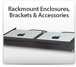 Rackmount Enclosures, Brackets & Accessories