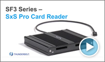 SF3 Series - SxS Pro Card Reader