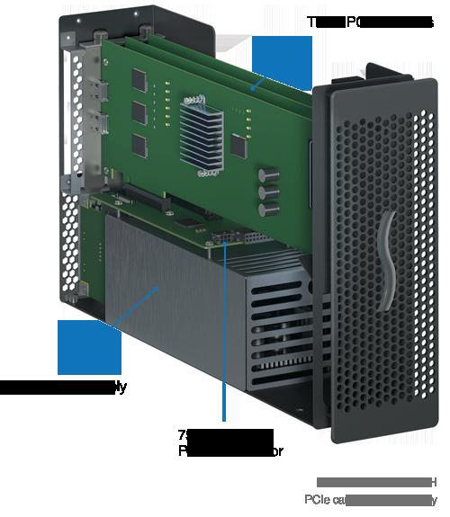 Echo Express III-D TB3 (Inside View)