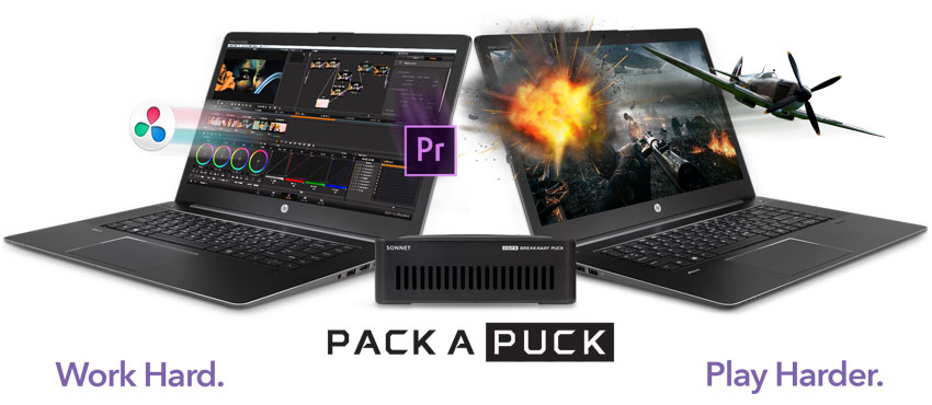 eGFX Breakaway Puck High-Performance Gaming or Video Production