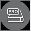 Pro Thunderbolt Storage Icon