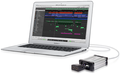 MacBook Air with Echo ExpressCard/34 Thunderbolt Adapter