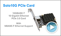 Solo10G PCIe Card
